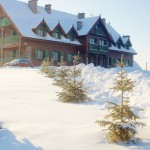 Mazurska Chata w zimowej szacie
